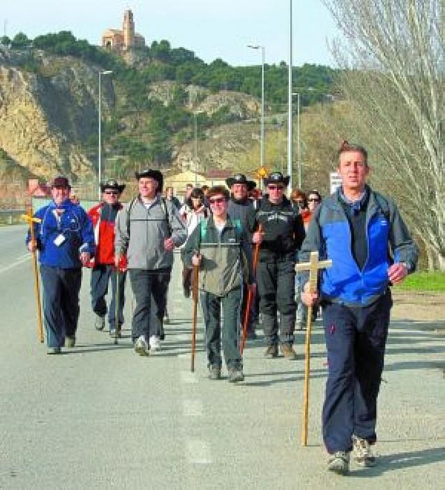 Doscientos peregrinos de 8 localidades