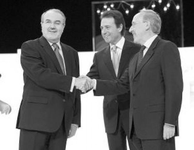 Zapatero y Rajoy, frente a frente en las urnas de la circunscripción madrileña