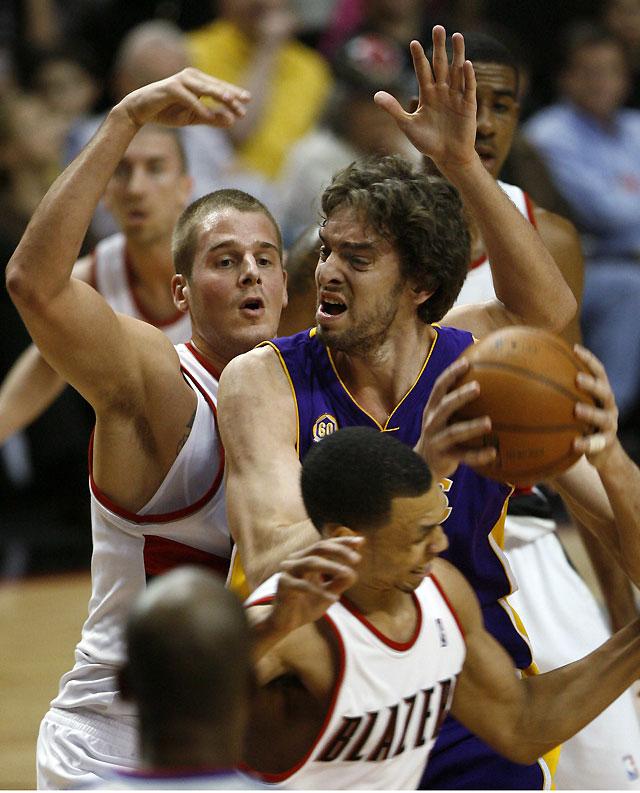 Portland rompe la racha triunfal de los Lakers