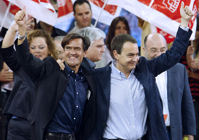 Zapatero asegura quien busca abstención es que no tiene confianza en sí mismo