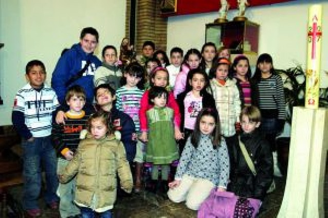 La parroquia prepara una cofradía infantil de la Virgen de Belén