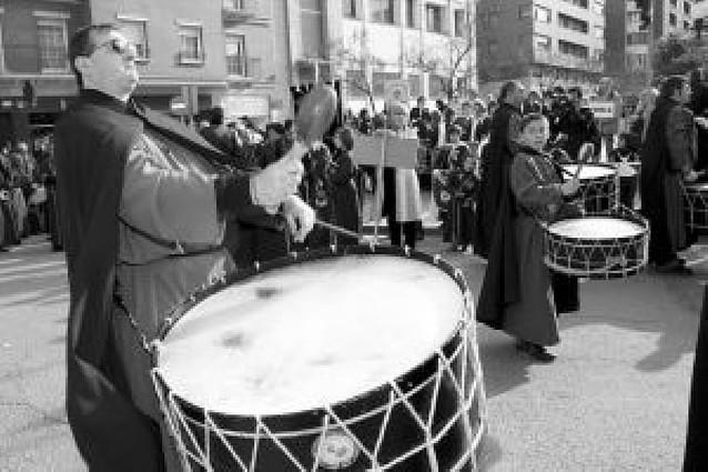 Tudela reúne a 8 grupos de Aragón, La Rioja y Navarra en la II Concentración de Tambores