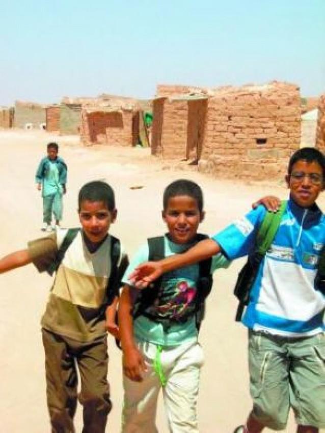 Navarra dará un apoyo técnico al sistema escolar de los saharauis