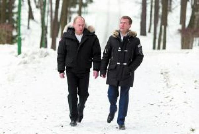 Rusia va a las urnas dando por descontado el triunfo de Medvédev