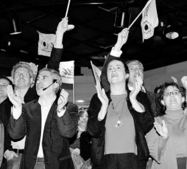 """Gaspar Llamazares sostiene su mensaje de """"no al bipartidismo"""""""