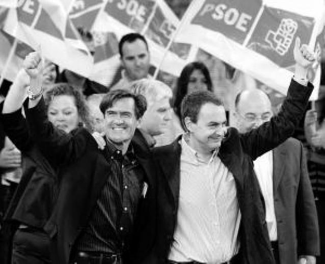 """Zapatero endurece su discurso contra el """"contrato de integración"""" del PP"""