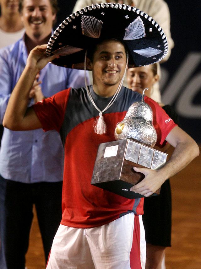 Almagro gana el torneo de Acapulco al vencer al argentino Nalbandian