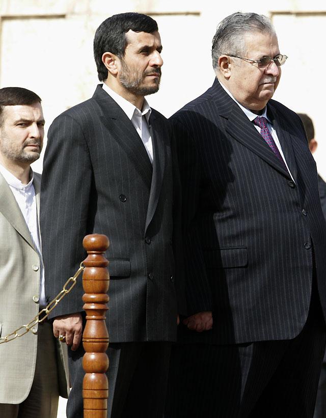 """Ahmadineyad afirma que con su visita a Irak se """"abre un nuevo capítulo"""" en las relaciones entre ambos países"""