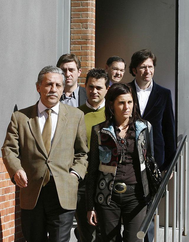 """López Garrido muestra su """"cariño"""" hacia Carlos Chivite y destaca que es """"el alma"""" del PSN"""