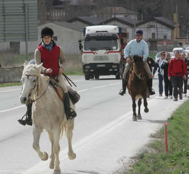 Miles de peregrinos en una primera Javierada sin incidencias y con buen tiempo