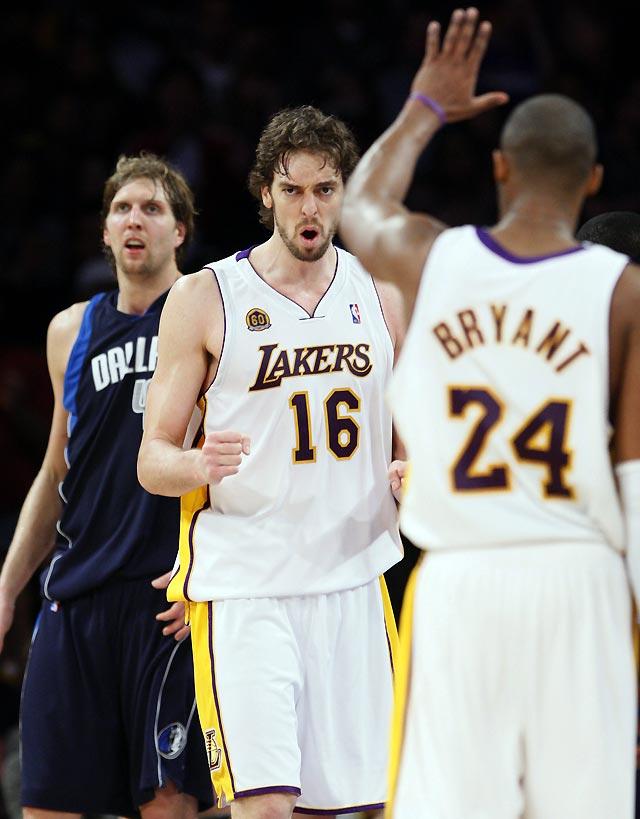 Los Lakers retoman la senda del triunfo tras imponerse a Dallas (108-104)