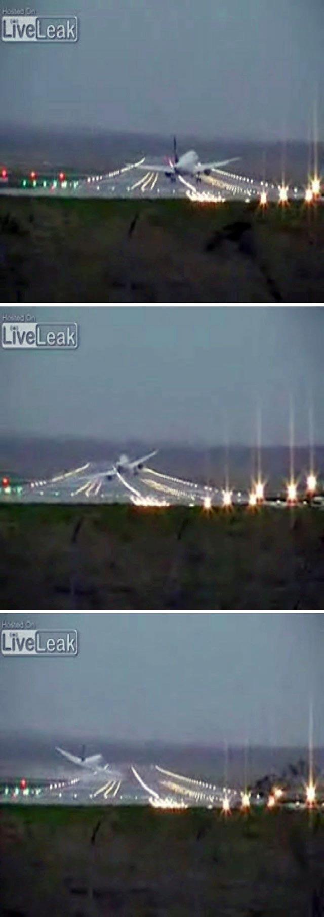 """Un piloto de Lufthansa evita un accidente y se erige en héroe frente al ciclón """"Emma"""""""