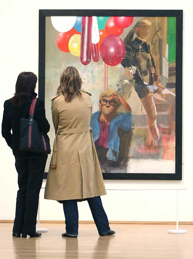 El padrino del arte pop, Peter Blake, muestra su trabajo en el Museo de Bellas Artes de Bilbao