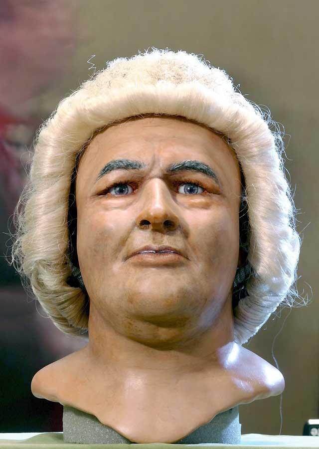 La medicina forense recrea el rostro del compositor alemán Johann Sebastian Bach