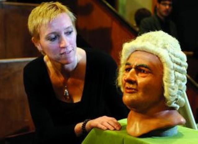 Una minuciosa técnica forense recrea el busto de Bach