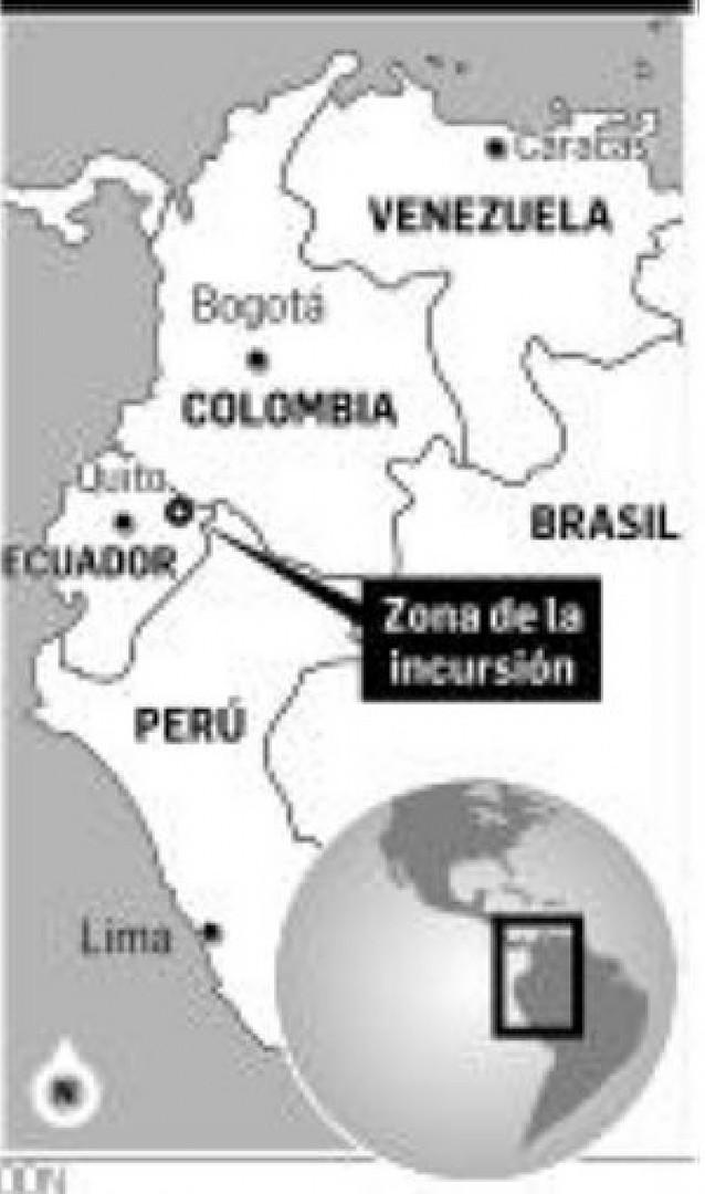 Colombia asegura tener pruebas de que Ecuador y Venezuela ayudan a las FARC