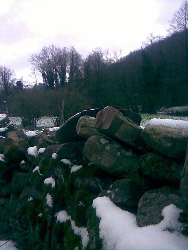 La nieve llega a Navarra después de un fin de semana primaveral
