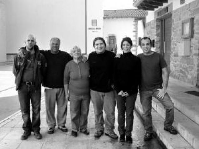 La familia de posaderos argentinos
