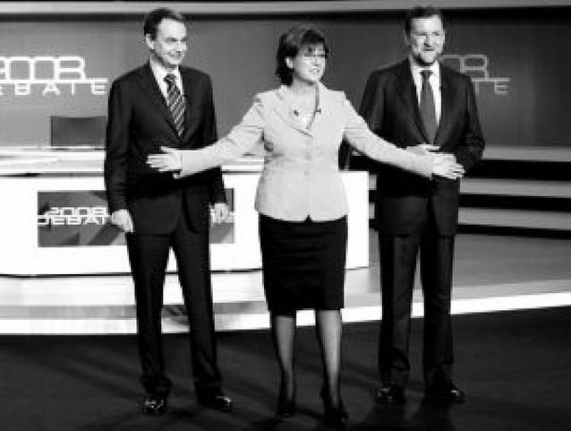 Zapatero y Rajoy se sienten de nuevo ganadores del cara a cara