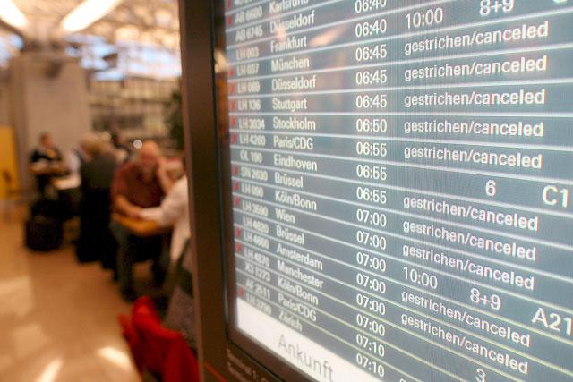 Las huelgas en Alemania obligan a suspender más de 300 vuelos
