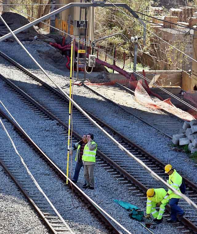 Restablecido el servicio de Renfe en las líneas de Barcelona afectadas por la caída de un cable