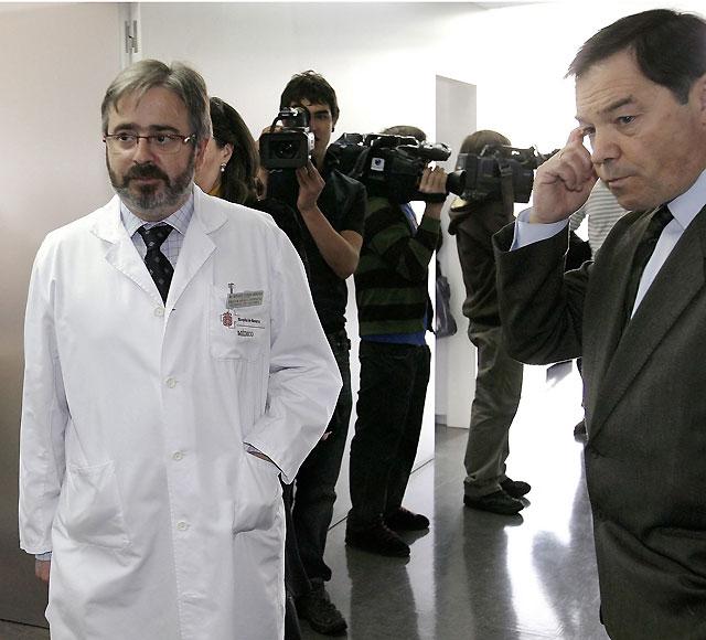 Carlos Chivite no evoluciona y continúa en estado muy grave en la UCI del Hospital de Navarra