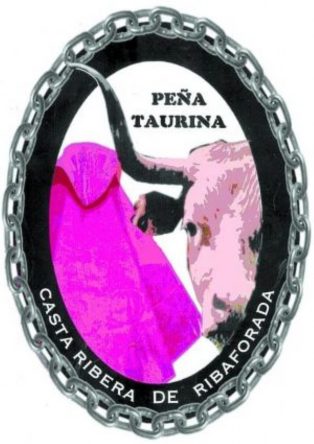 Juan Antonio Vaquero crea el logotipo de la peña taurina