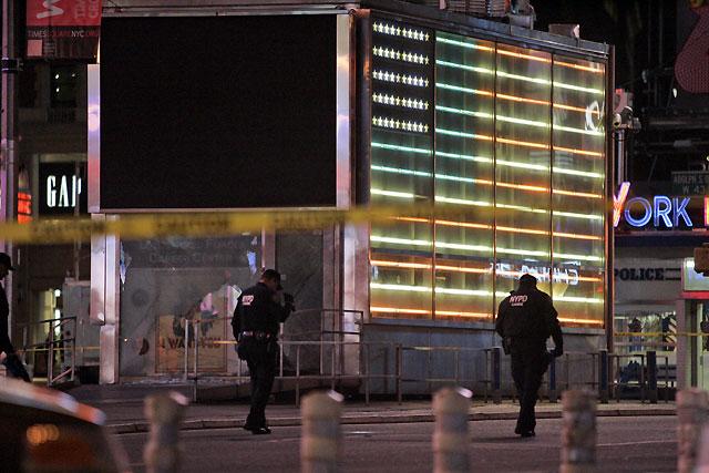 Una pequeña explosión sacude un centro del ejército en Nueva York