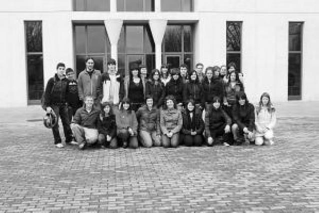 Dos colegios de Pamplona visitan la UPNA