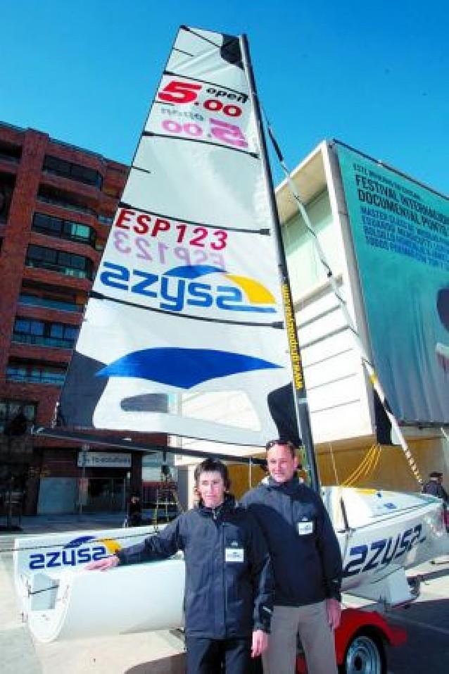 La Vela Navarra aspira al podio europeo Open 5.0