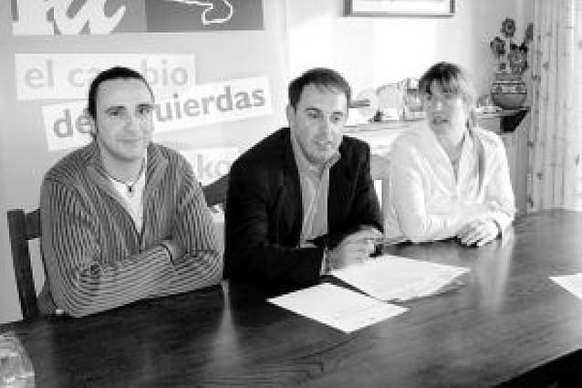 IU pide en San Adrián que se paralice el proyecto de TRASA