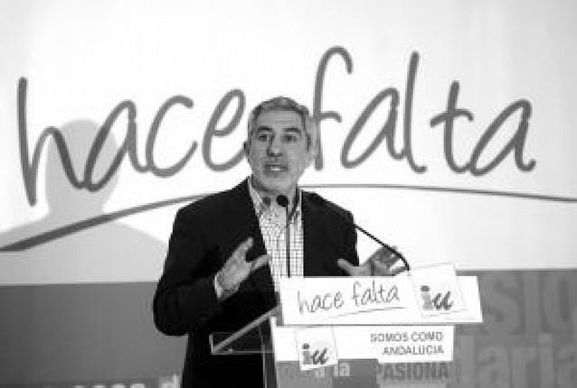 IU no entraría en un Gobierno de Zapatero con CiU y PNV
