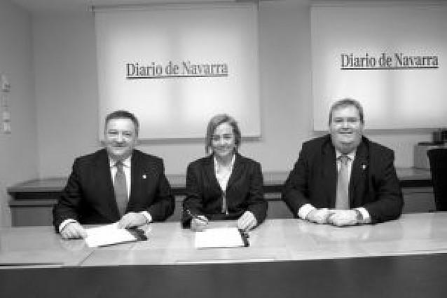 El Orfeón Pamplonés y Diario de Navarra renuevan un convenio de colaboración