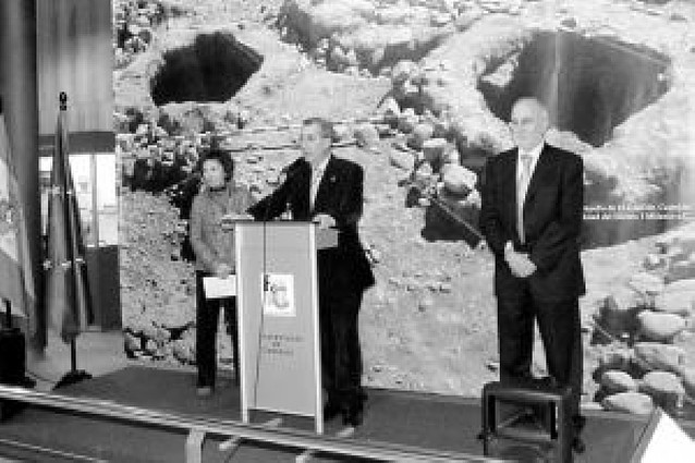 Una muestra recoge la construcción en Navarra a lo largo de cuatro milenios