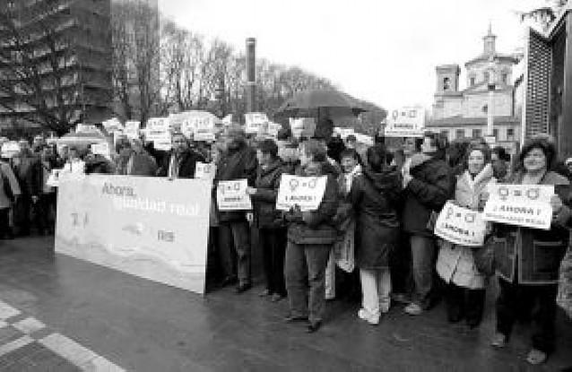 """Los sindicatos pidieron más """"igualdad"""" en el Día de la Mujer"""