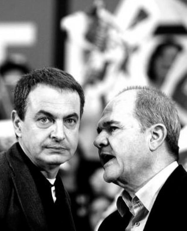 """""""Juntos defenderemos nuestras instituciones y libertades"""", dice Zapatero"""