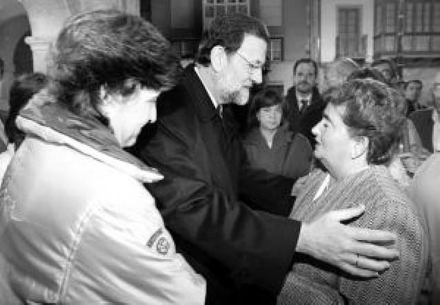 Suspendida la campaña: Zapatero y Rajoy se trasladaron a Mondragón