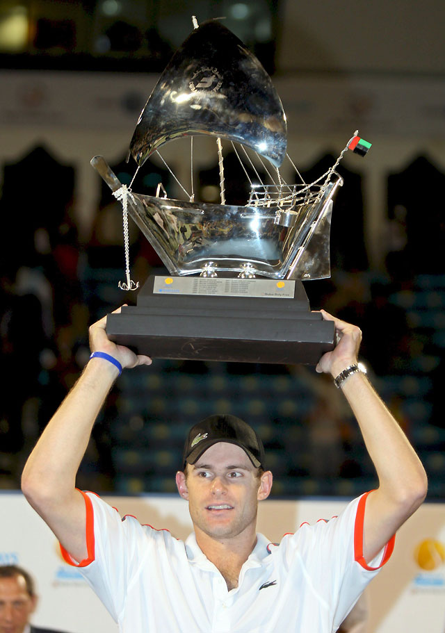 Feliciano López plantó batalla pero cayó ante Roddick en la final del torneo de Dubai