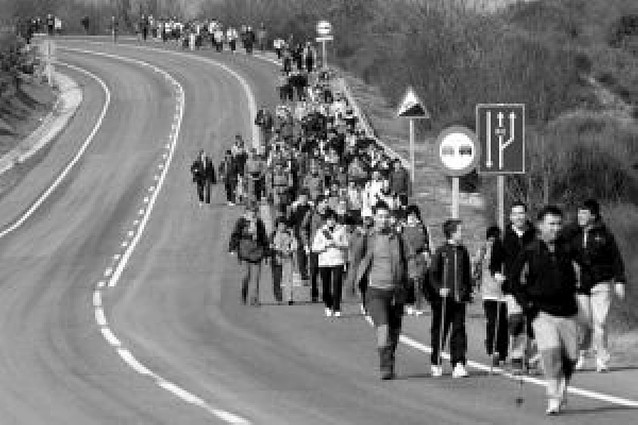 18.000 peregrinos se encontraron en Javier