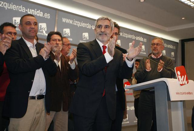 Llamazares dice adiós al liderazgo de Izquierda Unida