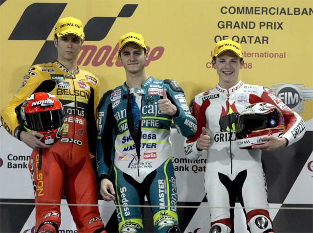 El español Sergio Gadea logra su primera victoria del año en Qatar