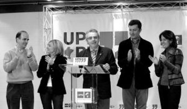 Sanz celebra el resultado de UPN y llama a un acuerdo PSOE-PP como en Navarra