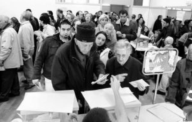 Un día en las urnas