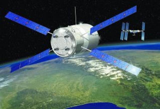 """Europa lanza su carguero espacial """"Julio Verne"""""""