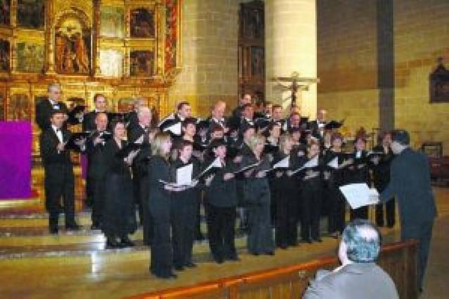 La coral San Andrés abre el VII Ciclo de Música Sacra