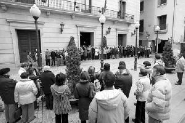 Navarra guardó silencio contra ETA