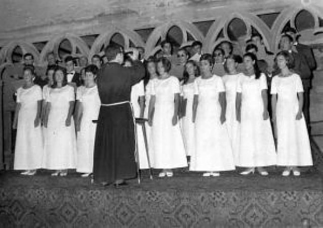 Coral Nora, 40 años de canto en Sangüesa