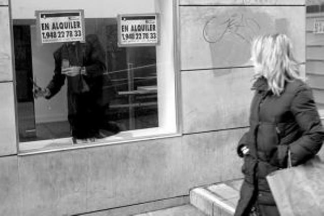 El 22% de la superficie comercial del Casco Antiguo pamplonés está cerrada