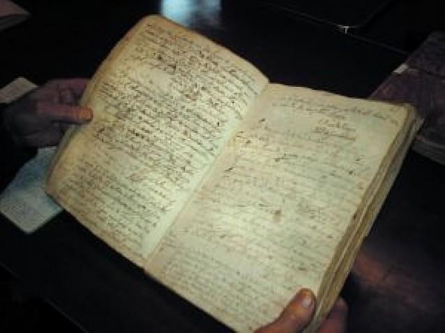 Recuperado el antiguo registro parroquial de Guenduláin