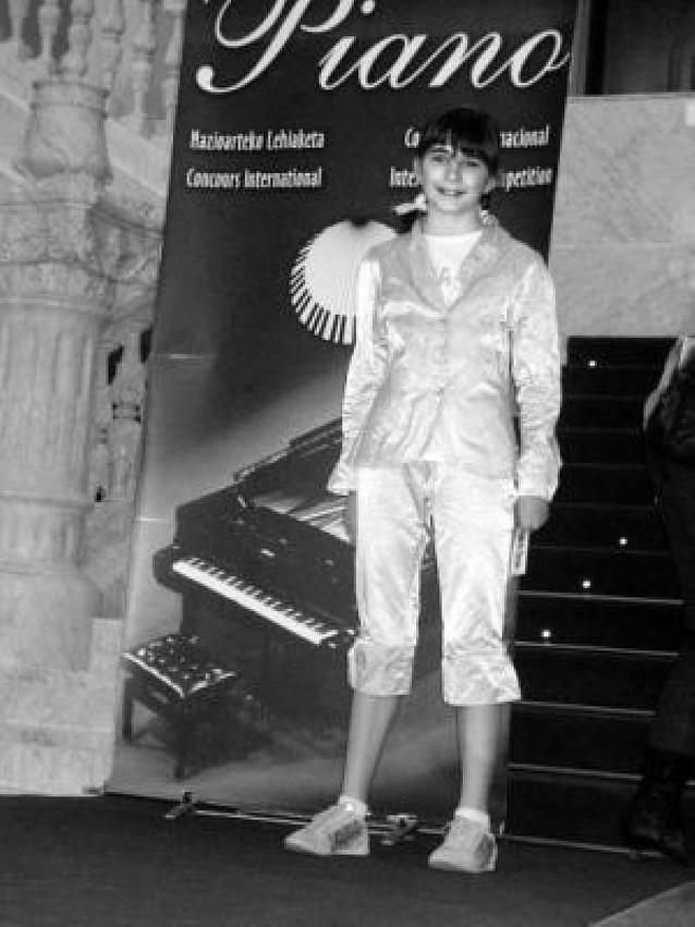 Casco Antiguo Premio internacional para una alumna de la Escuela de Música Joaquín Maya